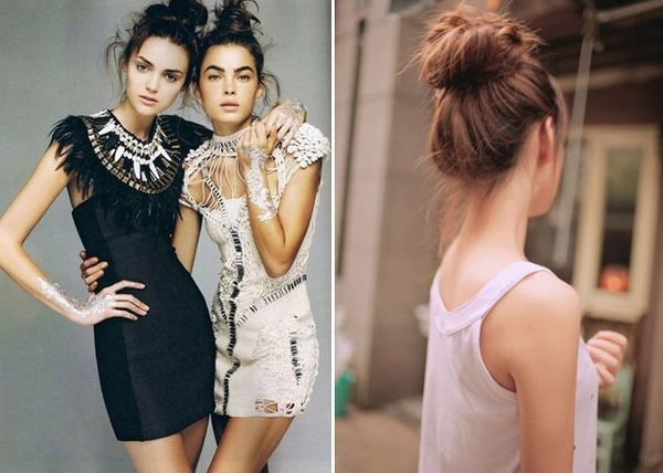 Recipe For Sophistication: Top Knot