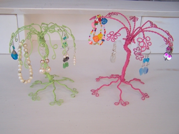 Cute and Crafty Jewelry Organizers